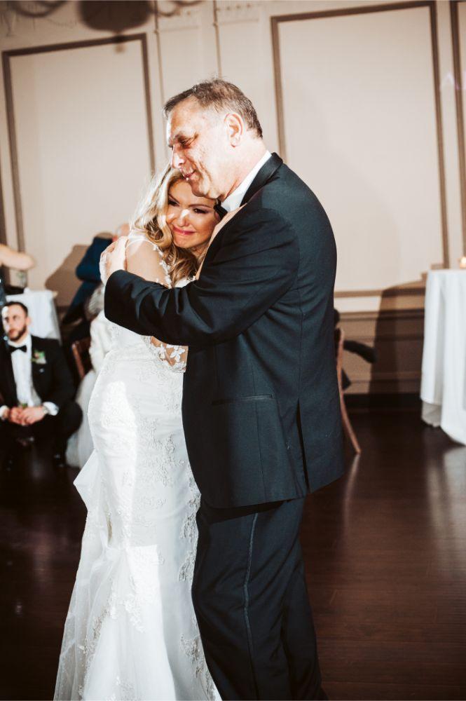 adrianna dean salvatore's chicago wedding father daughter dance