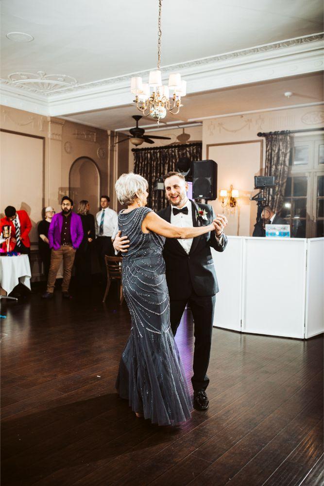 adrianna dean salvatore's chicago wedding mother son dance