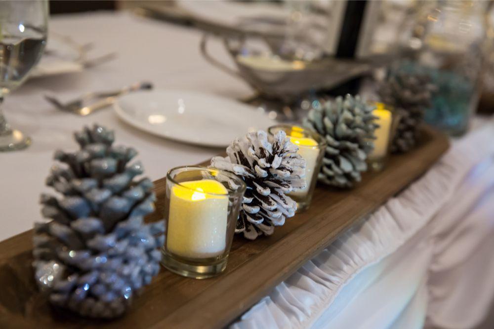becky zach venuti's ristorante & banquet hall chicago wedding reception decor