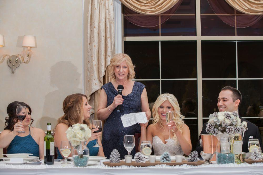 becky zach venuti's ristorante & banquet hall chicago wedding toasts