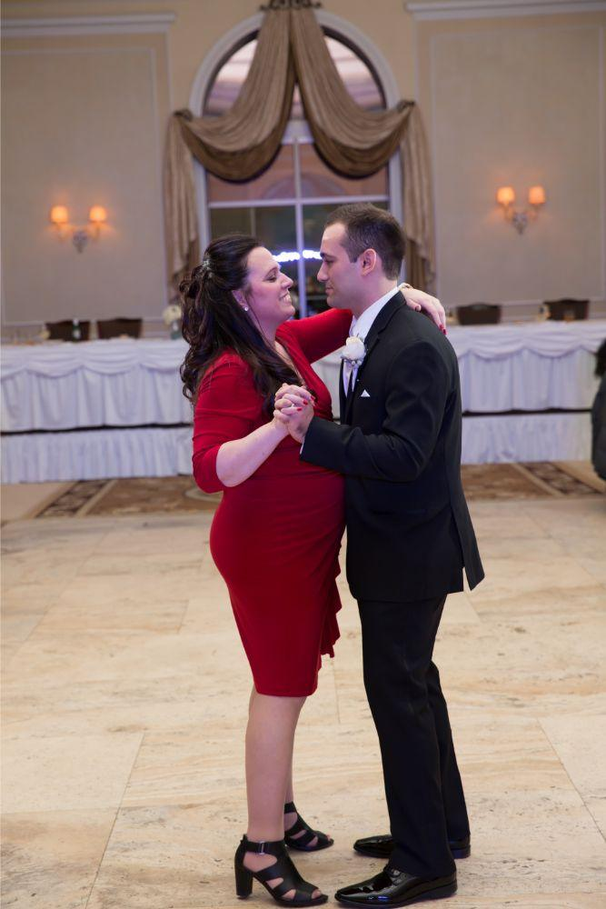 becky zach venuti's ristorante & banquet hall chicago wedding