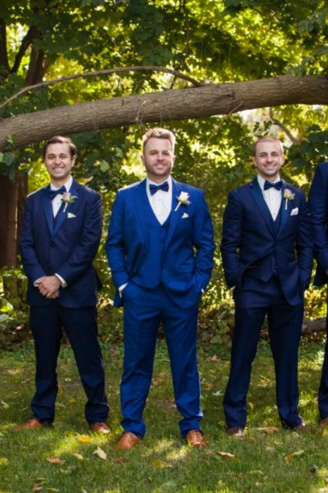 kolby j chicago wedding photography groom and groomsmen