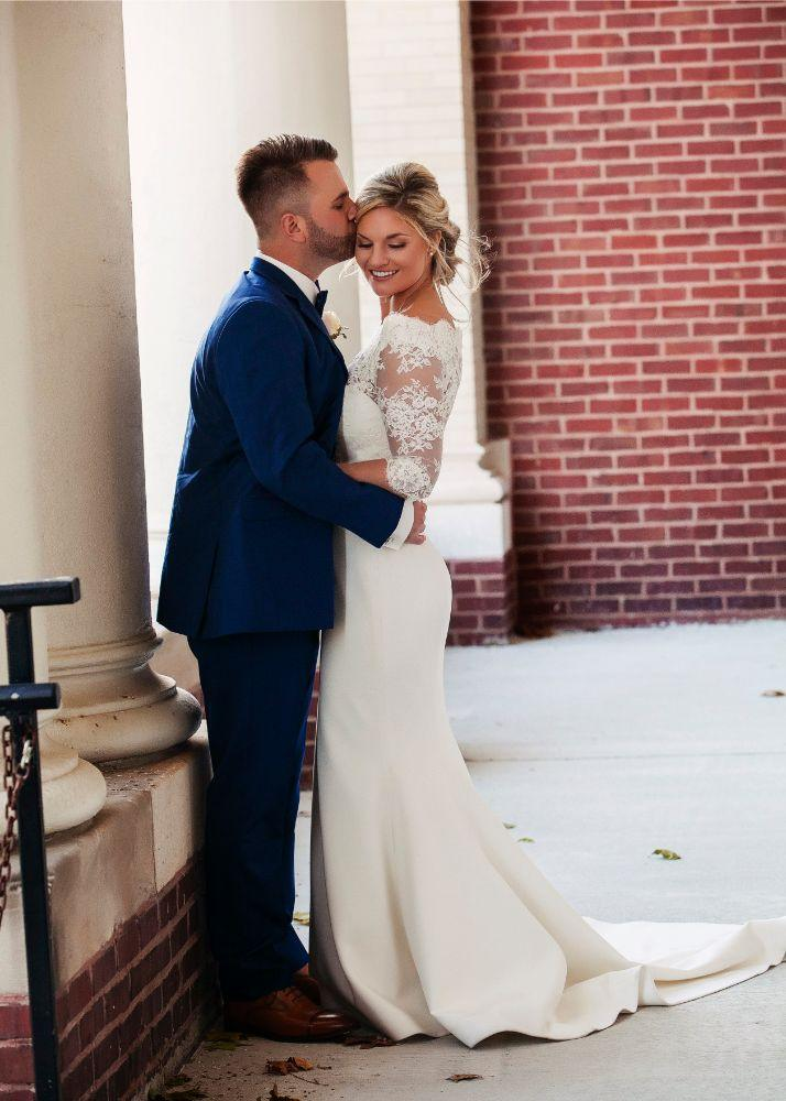 kolby j chicago wedding photography bride and groom portrait