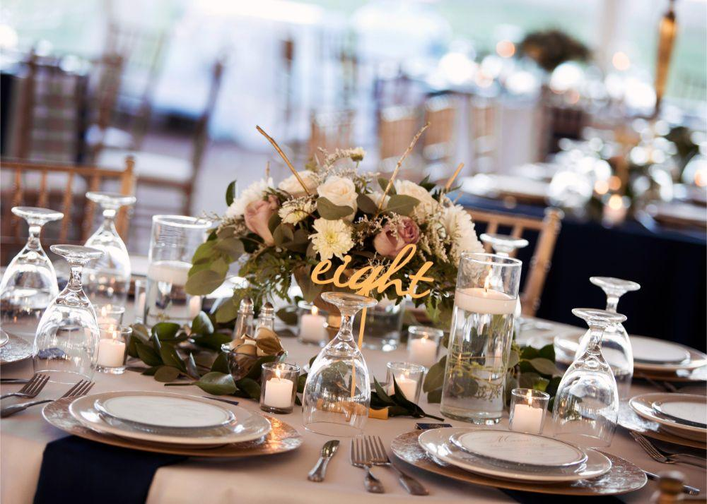 kolby j chicago wedding photography wedding reception tables