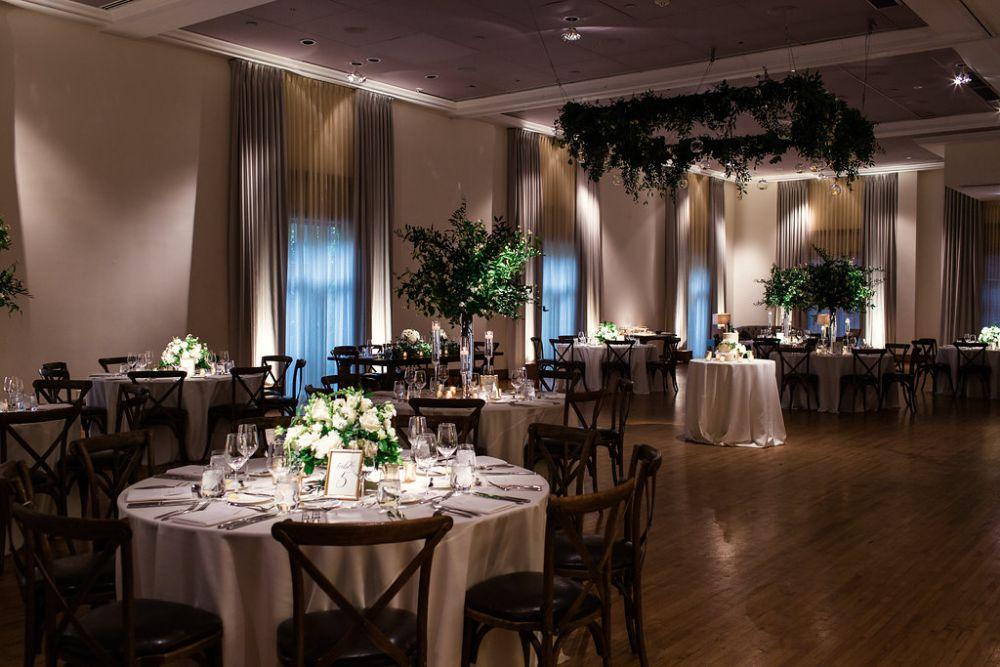 The Ivy Room at Tree Studios wedding reception