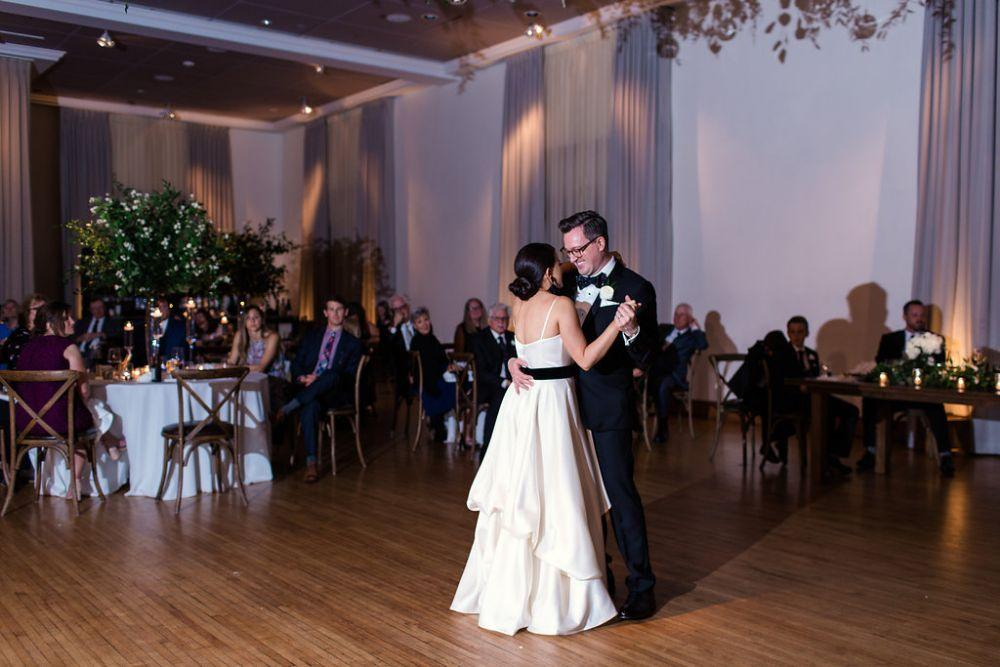 The Ivy Room at Tree Studios first dance