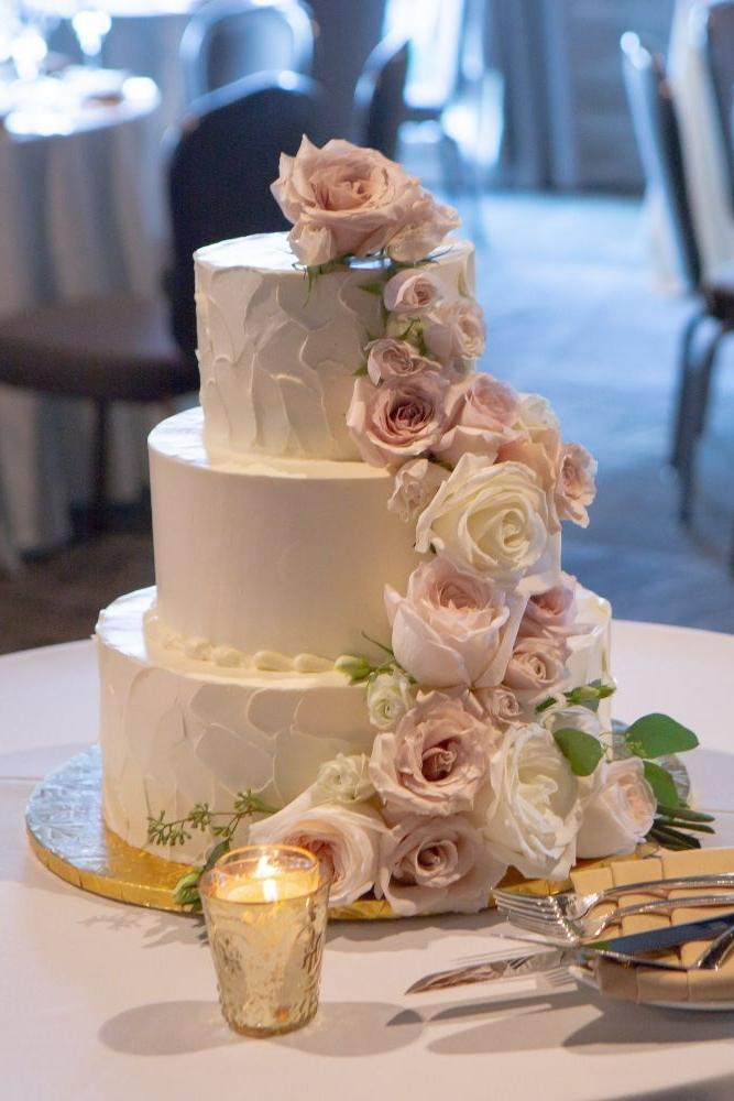 megan mike hotel indigo naperville riverwalk chicago wedding cake