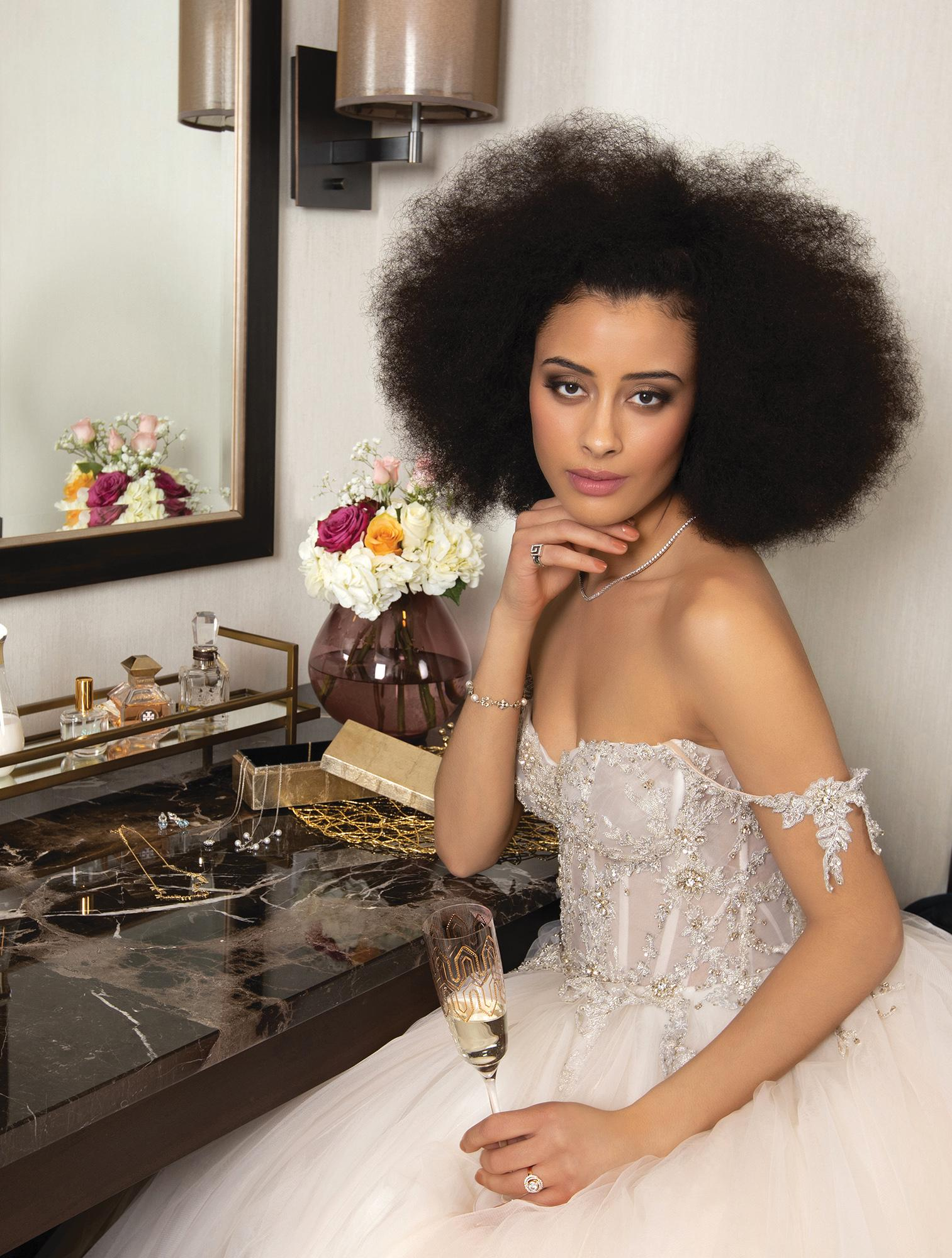 haute in the City | Bridal Fashion Shoot | Bridal Fashion | Menswear | Bride | Chicago Fashion Shoot