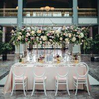 An Elevated Garden Affair - Glamour & Lace - Harold Washington Library Center