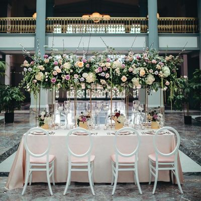 An Elevated Garden Affair - Glamour & Lace - Harold Washington Library Center