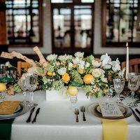 Fresh Rustic Romance - Preoccupied Bride - Pinstripes