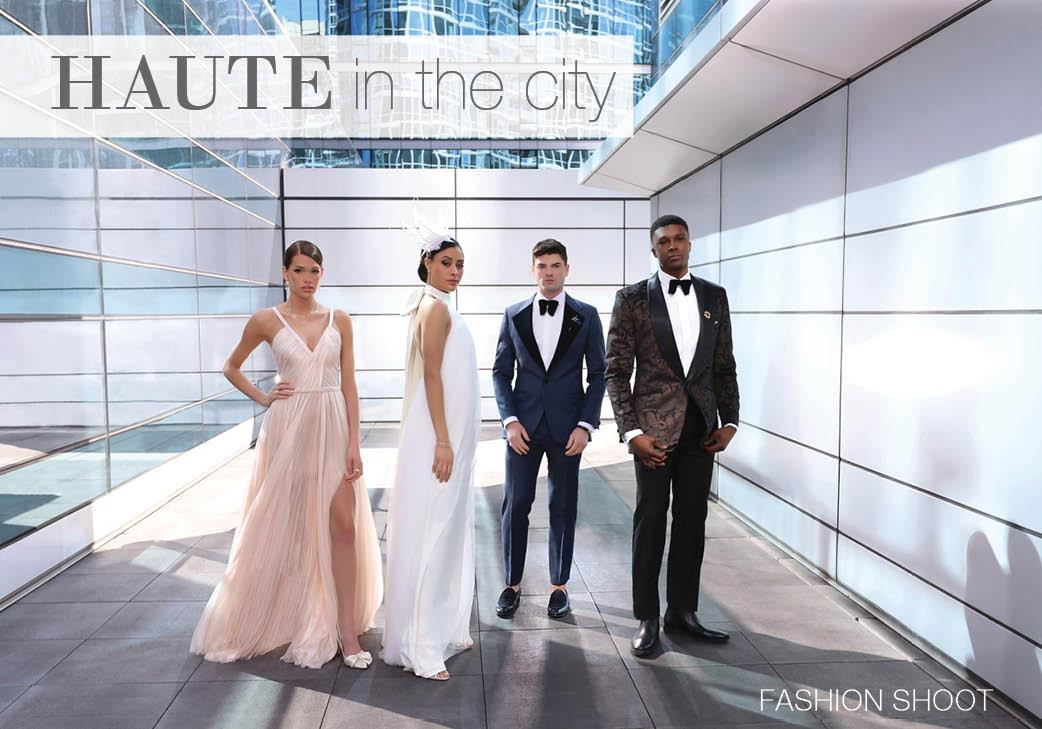 Haute in the City Fashion Shoot - Rick Aguilar Studios - Newlyweds Cinema