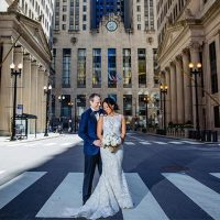 Jaime & Will at City Hall in Chicago, Illilnois | Real Wedding
