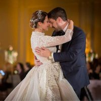 Patricia & Gerasimos at the Westin O'Hare in Rosemont, Illinois | RED Weddings Photography & Videography | Real Wedding