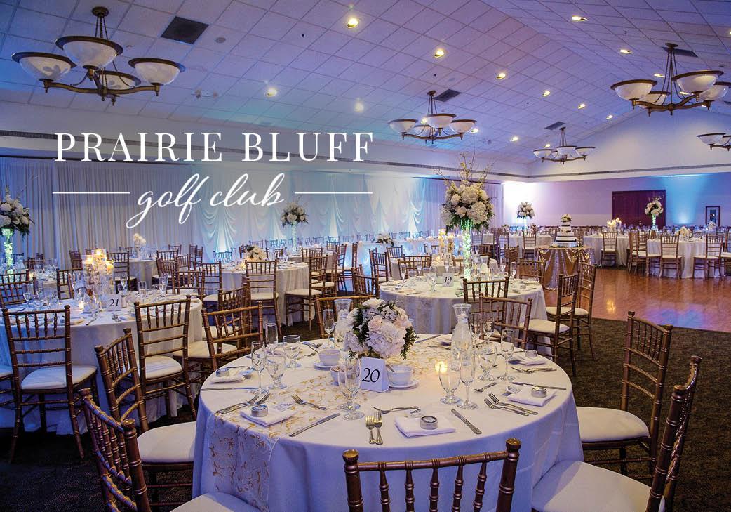 Prairie Bluff Golf Club | Golf Course Wedding | Lockport, Illinois | Wedding Venue