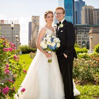 Stephanie & Dane at the Blackstone Hotel | Chicago Real Wedding | Collin Lyons Photography