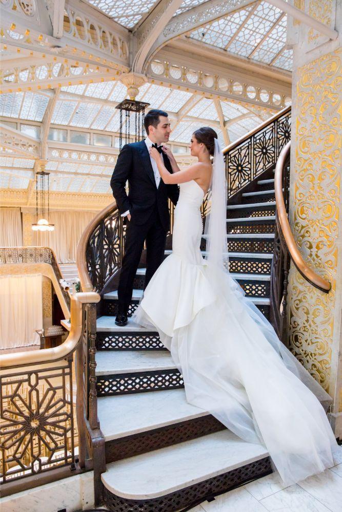The Rookery Building in Chicago, Illinois | Wedding Venue | Historic Venue | Unique Wedding Venue