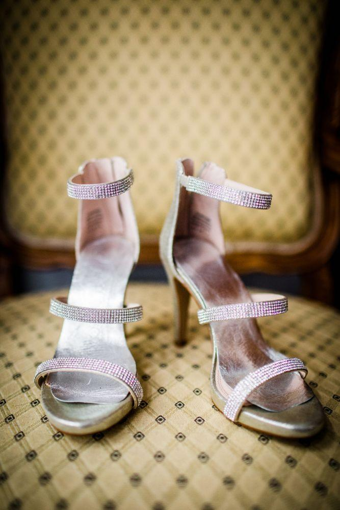 michelle jimmy the congress plaza hotel chicago wedding bridal shoes