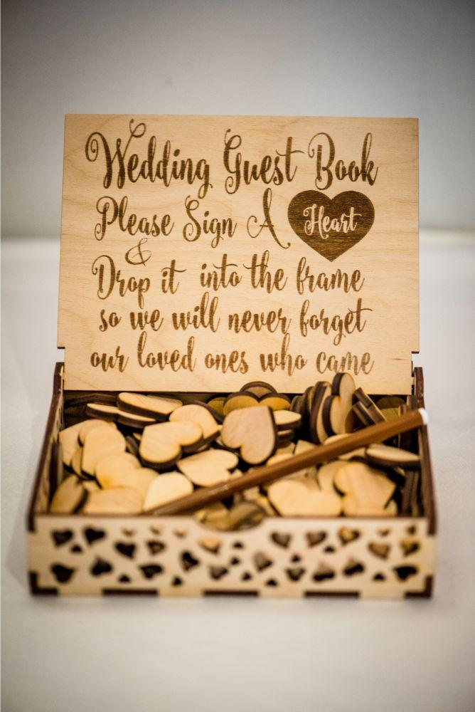 michelle jimmy the congress plaza hotel chicago wedding guest book