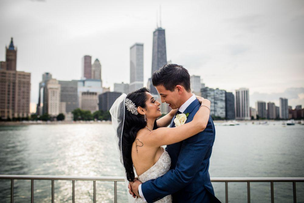 michelle jimmy the congress plaza hotel chicago wedding