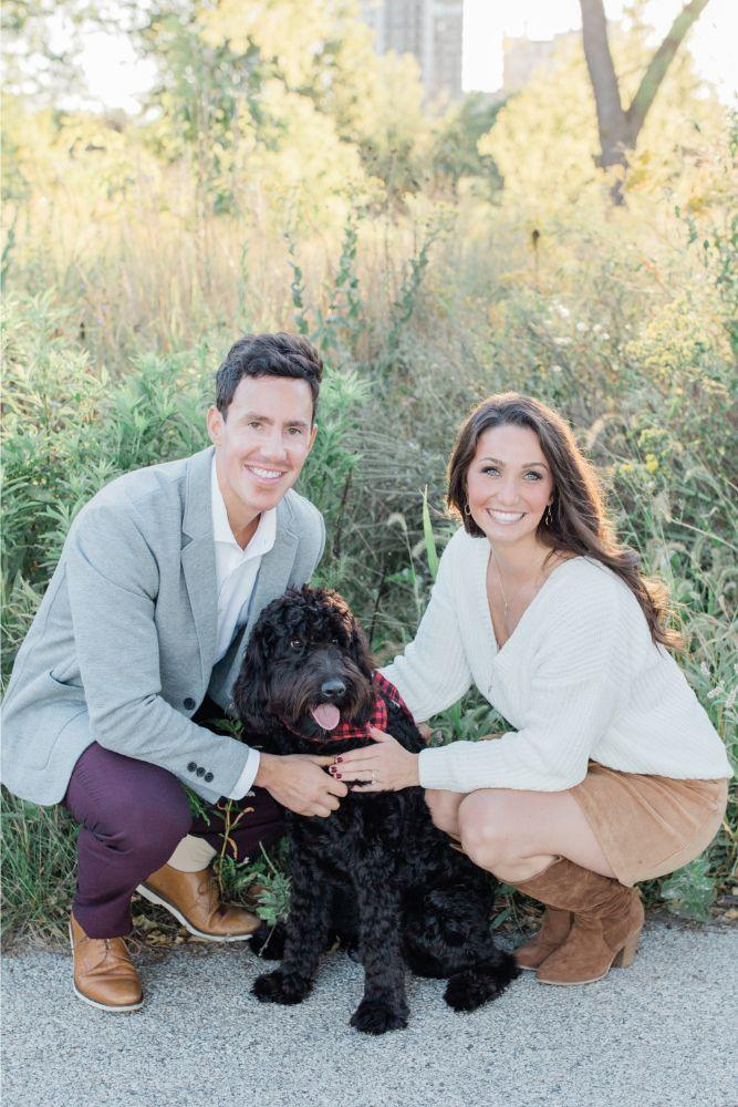 how to include your dog in your wedding chicago, il