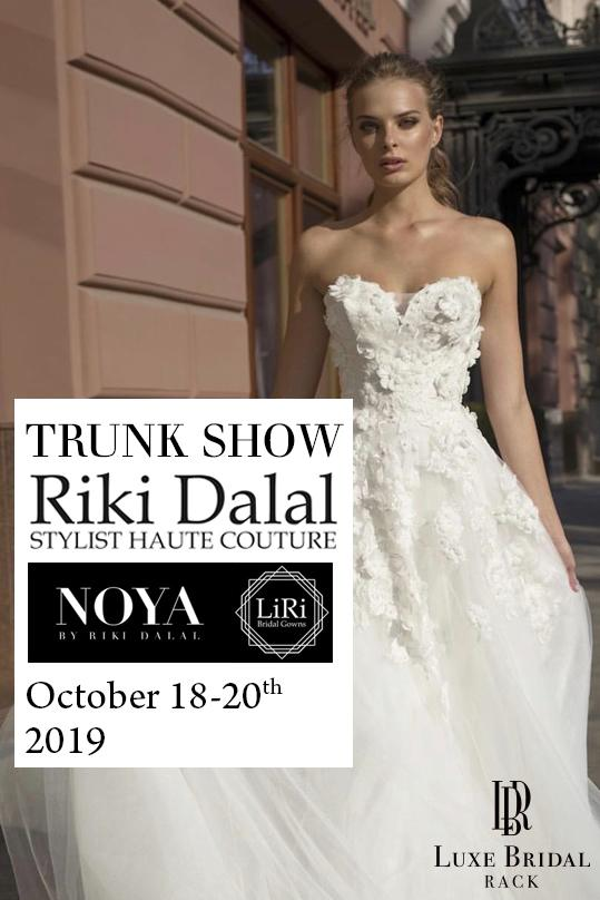 riki dalal trunk show luxe bridal rack october 2019