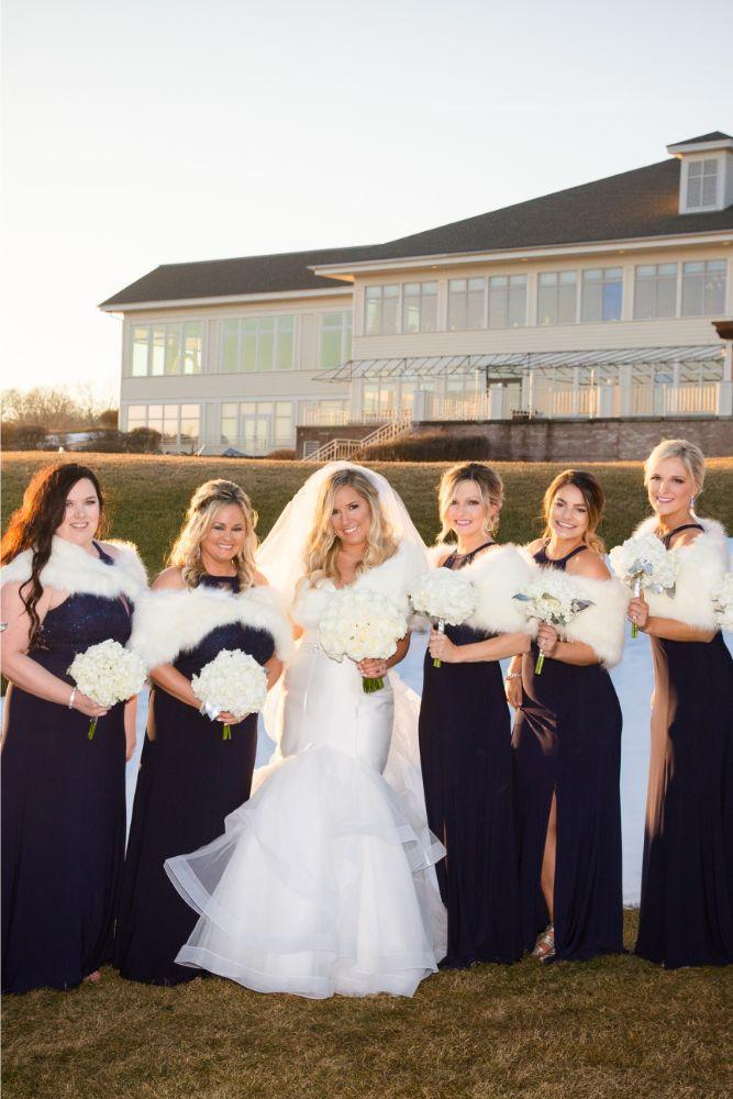 brittany matthew local love the ridge hotel chicago wedding bride and bridesmaids