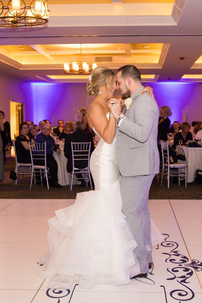 brittany matthew local love the ridge hotel chicago wedding first dance