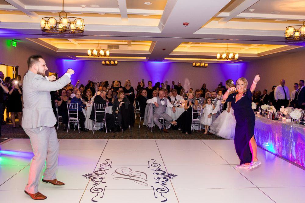 brittany matthew local love the ridge hotel chicago wedding mother son dance