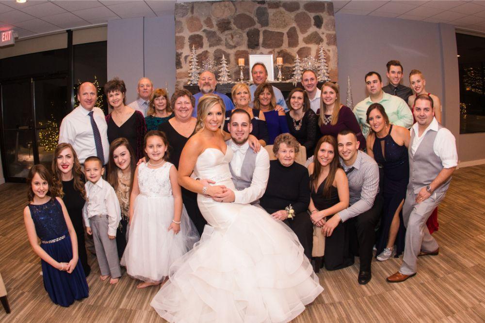 brittany matthew local love the ridge hotel chicago wedding wedding guests