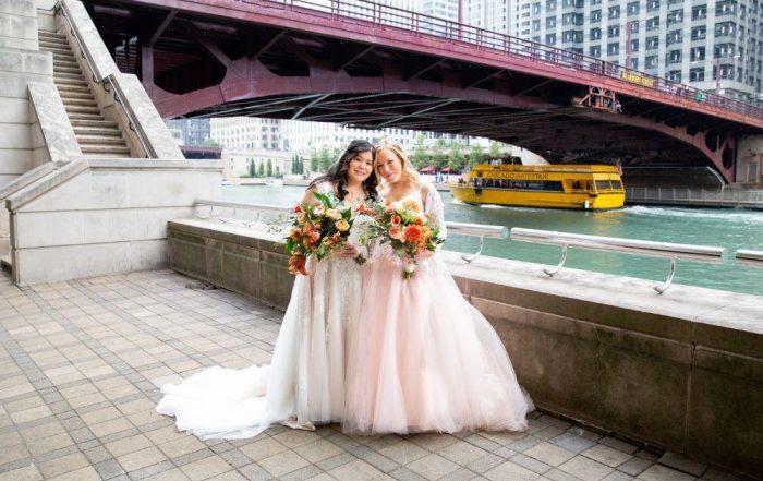 caitlin carolyn salvage one chicago wedding