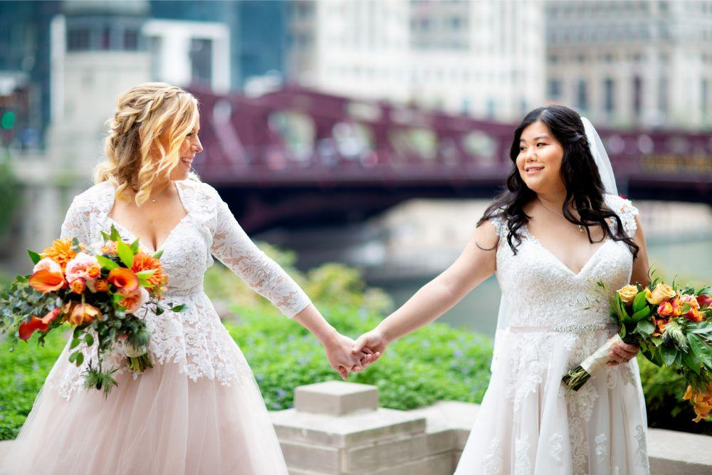 caitlin carolyn salvage one chicago wedding