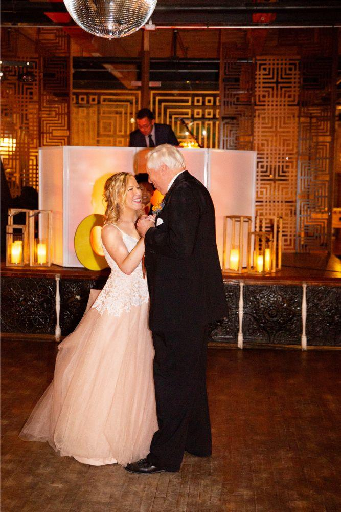 caitlin carolyn salvage one chicago wedding father daughter dance