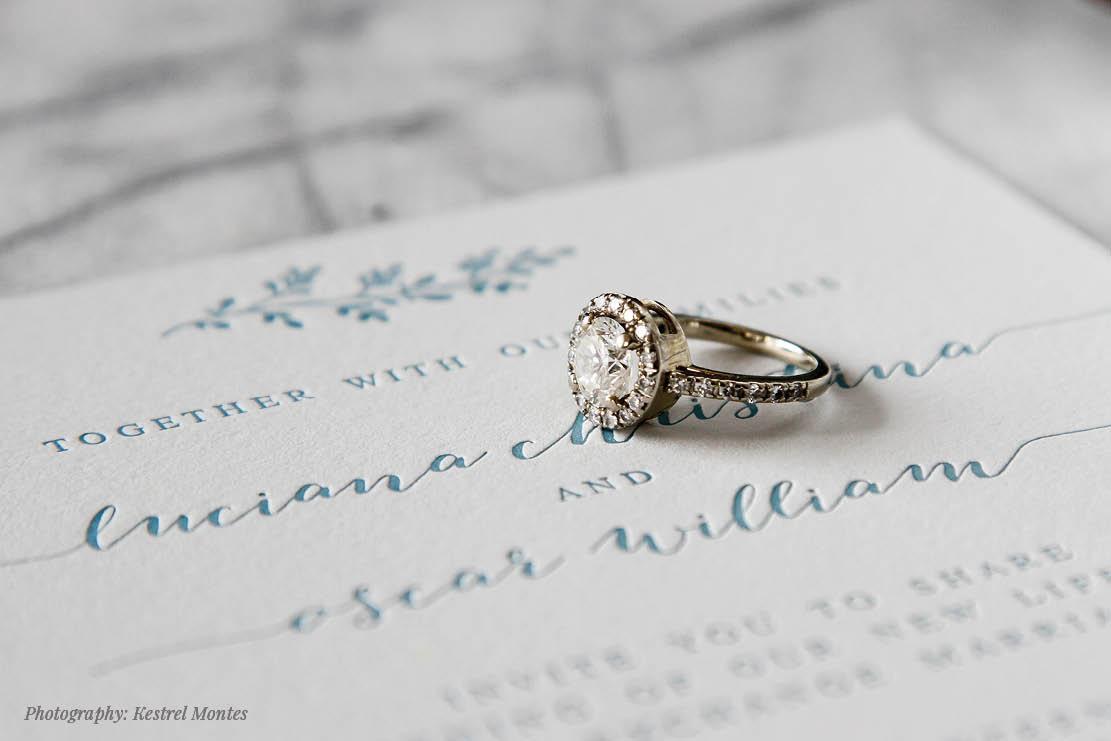 Fiore Press Letterpress in Chicago, Illinois | Wedding Stationery | Letterpress | Wedding Invitations