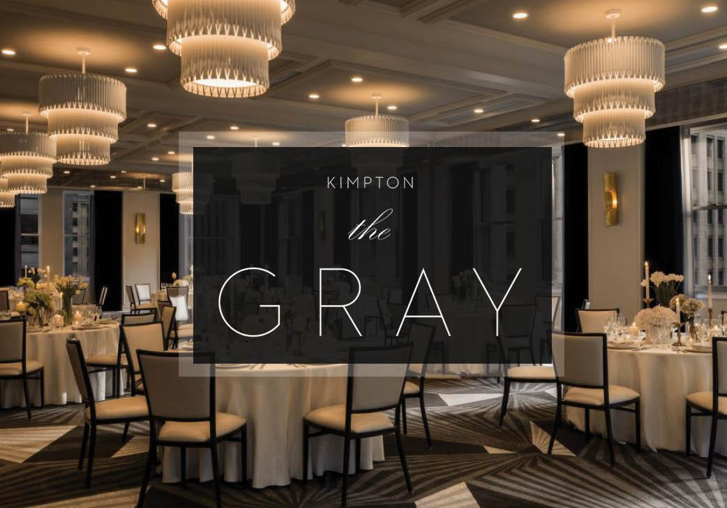 Kimpton The Gray Hotel in Chicago, Illinois   Wedding Venue