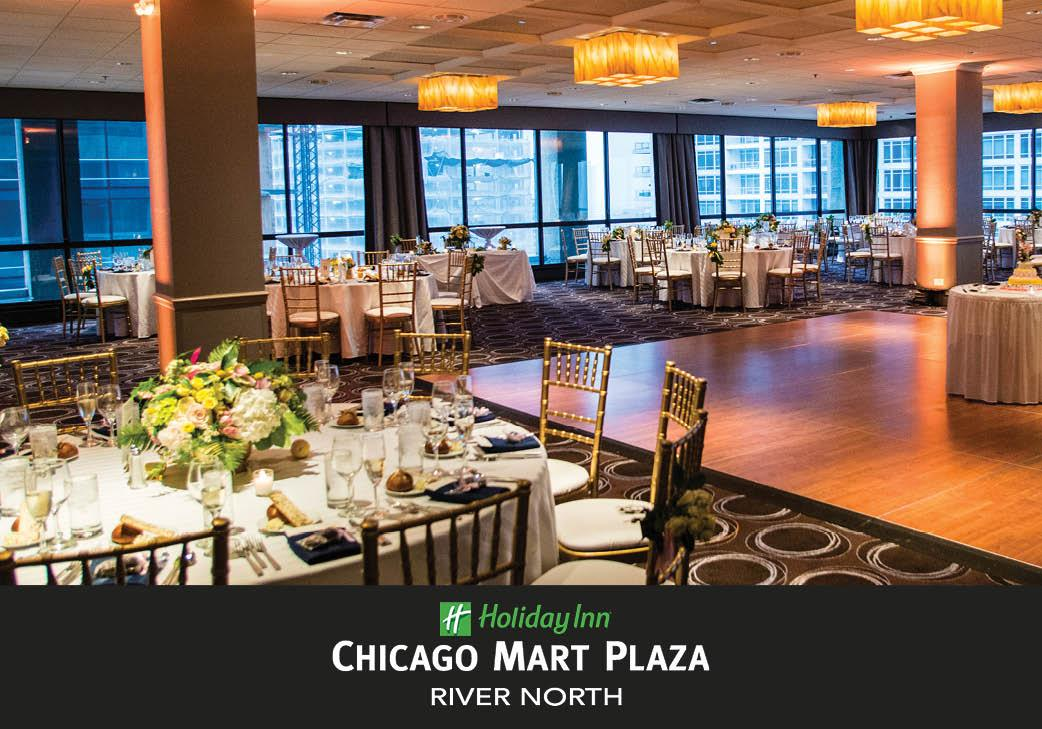 Holiday Inn Chicago Mart Plaza River North Hotel in Chicago, Illinois | Wedding Venue