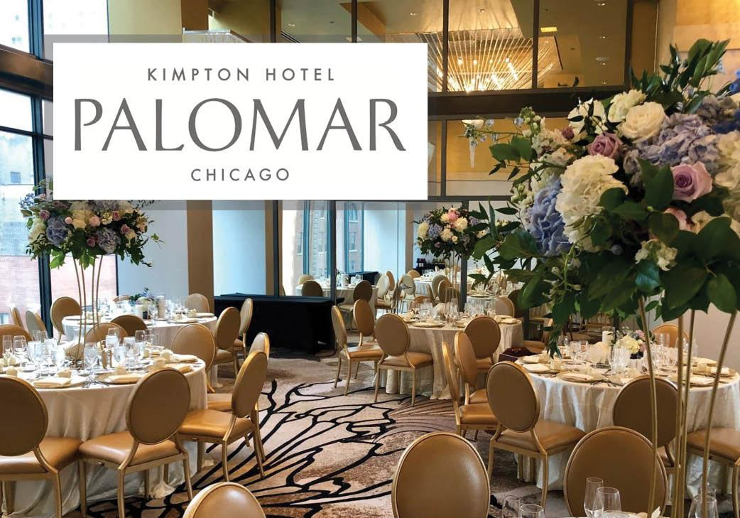 Kimpton Hotel Palomar in Chicago, Illinois   Wedding Venue
