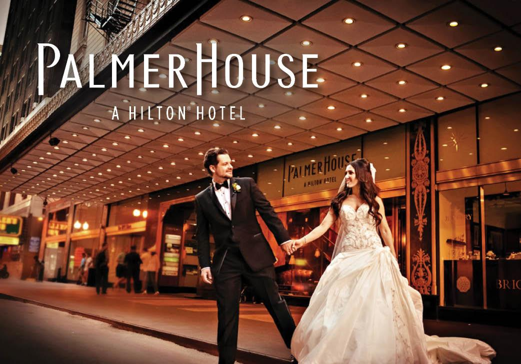The Palmer House, A Hilton Hotel in Chicago, Illinois | Wedding Venue