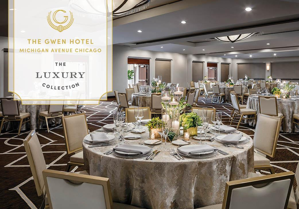 The Gwen Luxury Hotel in Chicago, illinois   Wedding Venue