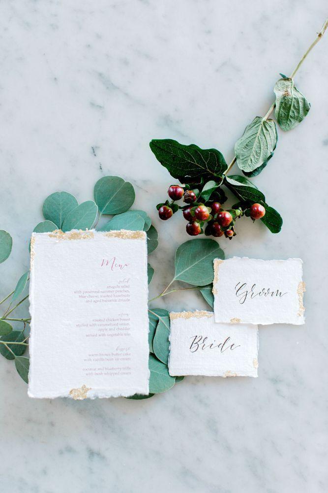 big fake wedding chicago 2019 stationery