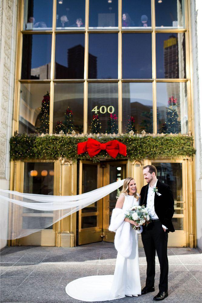 hilary bill galleria marchetti chicago, il wedding bride and groom portraits