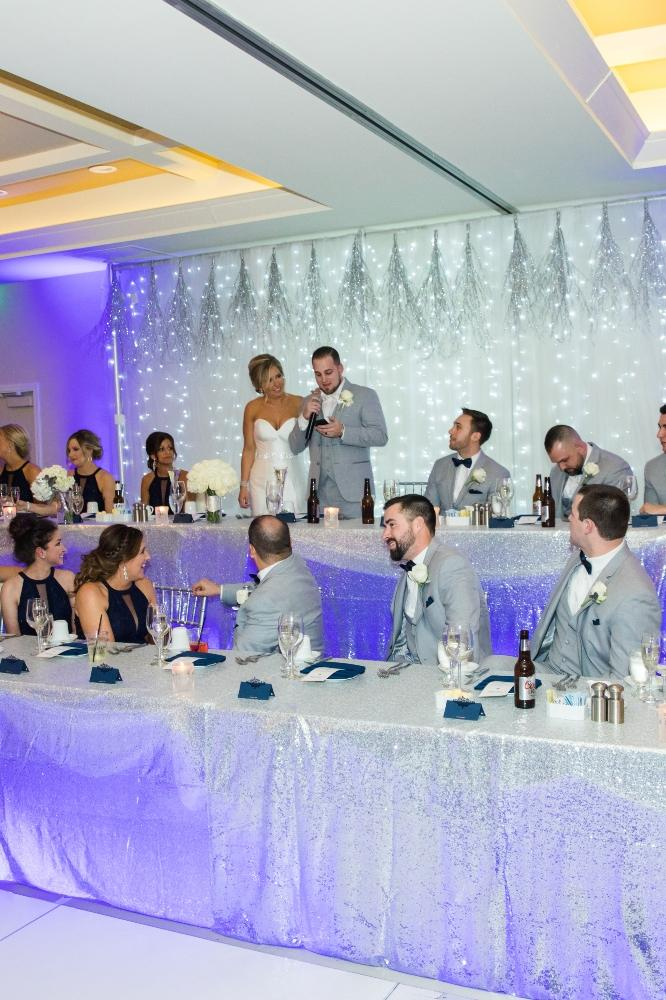 brittany matthew local love the ridge hotel chicago wedding toasts