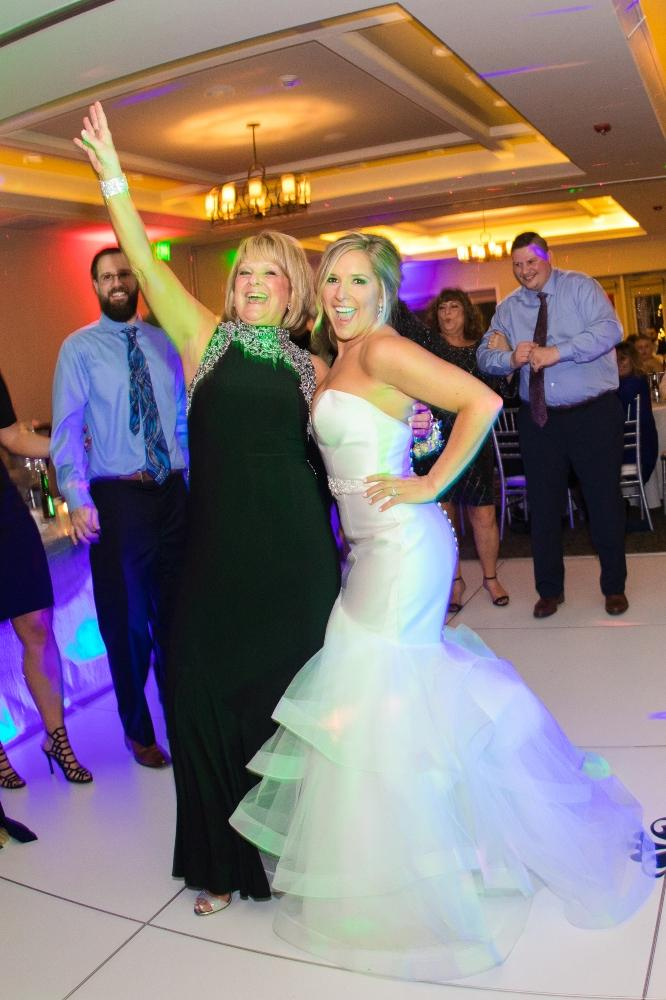 brittany matthew local love the ridge hotel chicago wedding mother daughter dance
