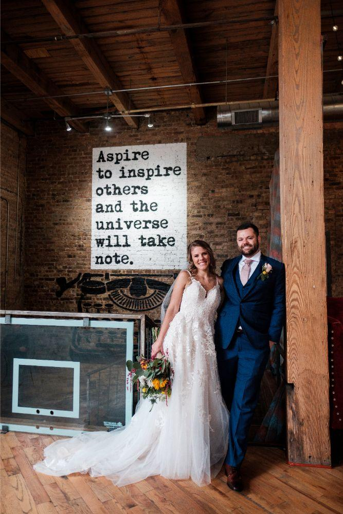 local love kaitlyn tom lacuna lofts chicago, il wedding bride and groom portraits