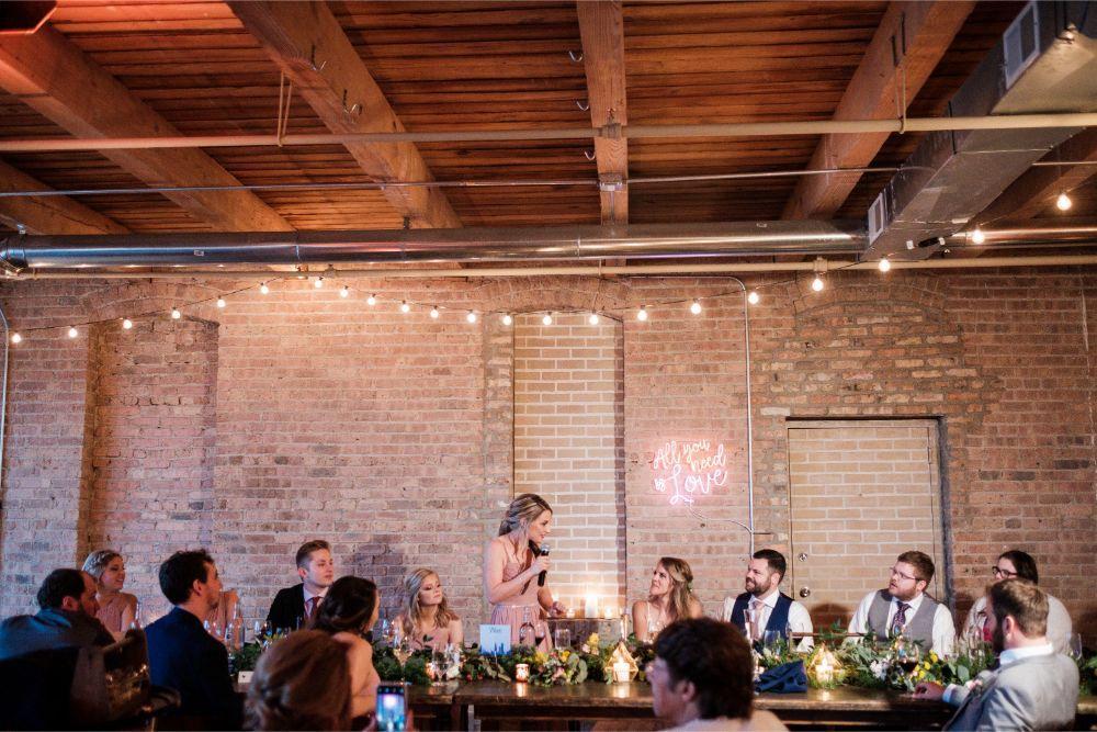 local love kaitlyn tom lacuna lofts chicago, il wedding reception