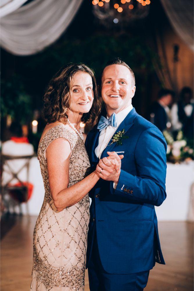 kathy michael skyline loft bridgeport art center chicago wedding mother son dance