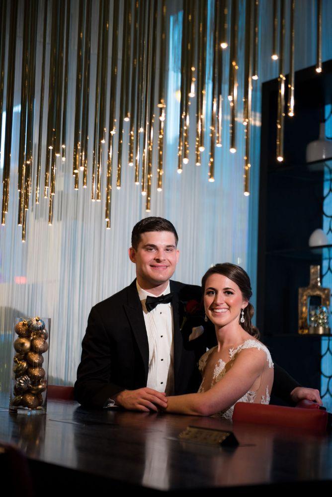 sarah chris galleria marchetti chicago, il wedding bride and groom portrait