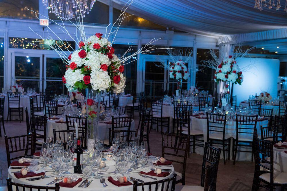 sarah chris galleria marchetti chicago, ill wedding reception details