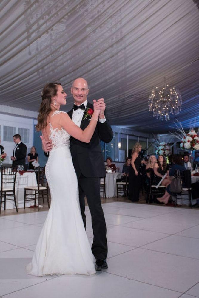 sarah chris galleria marchetti chicago, il wedding father daughter dance