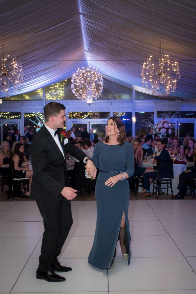 sarah chris galleria marchetti chicago, il wedding mother son dance